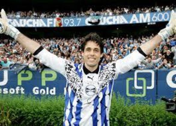 Danrlei - Ídolo do Grêmio, o ex-goleiro jogou 66 jogos na COpa do Brasil, competição que foi tricampeão com o Tricolor Gaúcho, em 1994, 1997 e 2001.