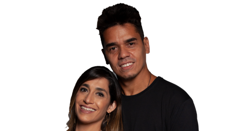 Dany e Fábio são o oitavo casal eliminado do Power Couple