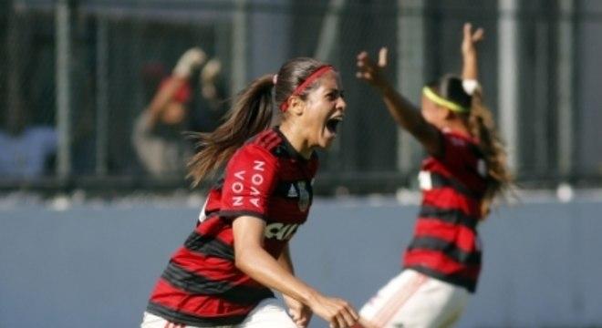 Dany Helena, jogadora do Flamengo