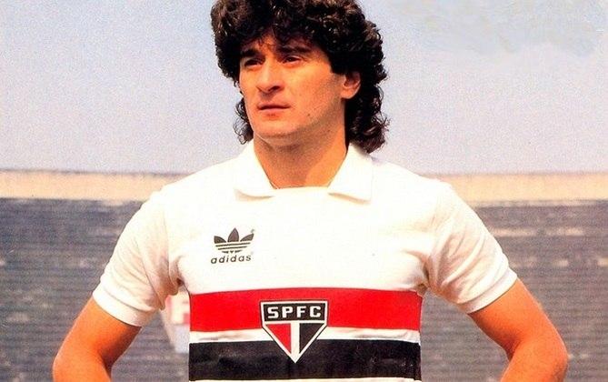 Darío Pereyra - 453 jogos: um dos maiores zagueiros da história do São Paulo, o uruguaio jogou entre 1977 e 1988. Fez 37 gols no Tricolor.