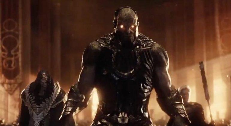 O vilão Darkseid