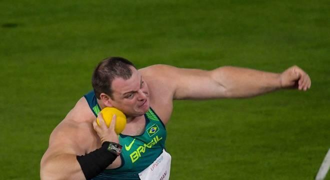 Darlan Romani garantiu ouro para o Brasil