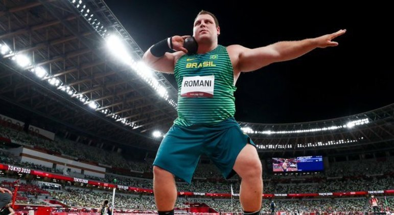 Quarto colocado em Tóquio, Darlan Romani fica em 2º em competição após os Jogos