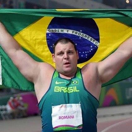 Atletismo (25 vagas)Darlan RomaniArremesso de peso