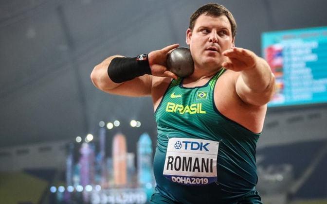 Darlan Romani, esperança de medalha, estreia no arremesso de peso, às 7h15.