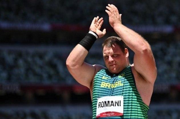 Darlan Romani: ouro no Pan de 2019, ele ficou ainda em quarto lugar no arremesso de peso de Tóquio 2020 e no Mundial de 2019