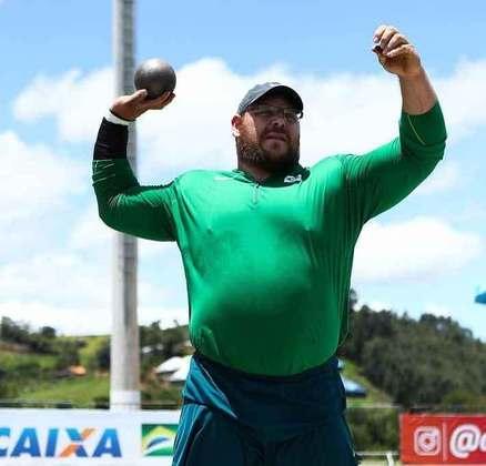 Darlan Romani teve resultados fortes no arremesso de peso e é um nome que pode surpreender os favoritos no Japão