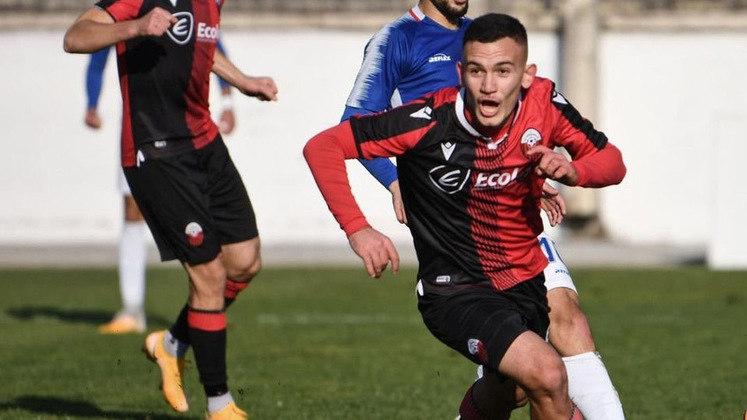 Dashmir Elezi (Macedônia do Norte) - Clube: Shkendija Tetovo (Macedônia do Norte) - Posição: Atacante