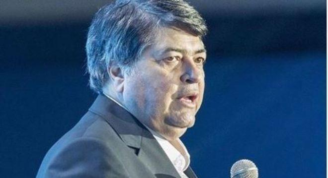 O apresentador José Luiz Datena sofre de diabetes tipo 2