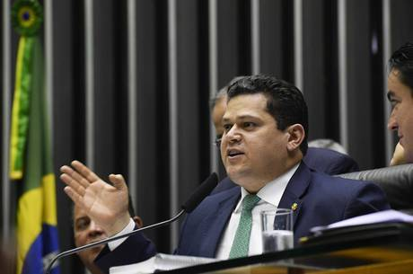 O presidente do Senado, Davi Alcolumbre
