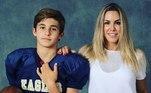 Davi é filho de Vitor com a modelo e empresária Joana Prado