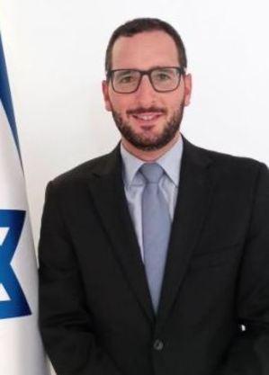 David Atar, da Embaixada de Israel