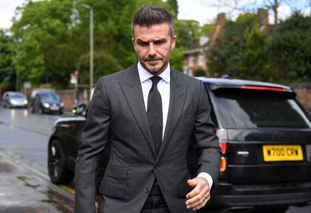 David Beckham, também ex-jogador, é dono do Inter de Miami, da MLS, dos Estados Unidos