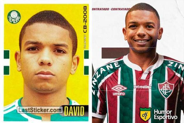 David Braz jogou em 2008 pelo Palmeiras. Inicia o Brasileirão 2021 com 34 anos e jogando pelo Fluminense.