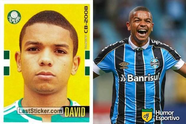 David Braz jogou pelo Palmeiras em 2008. Inicia o Brasileirão 2020 com 33 anos e jogando pelo Grêmio