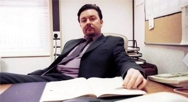 David Brent: personagem de comédia, praticante do microintervalo