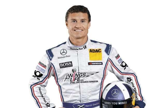 David Coulthard correu no DTM entre 2010 e 2012, após saída da F1.
