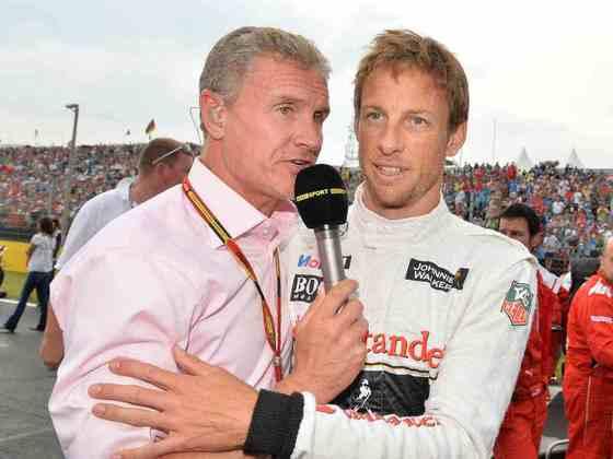 David Coulthard: saiu ileso de um acidente aéreo e voltou a correr após quatro dias.