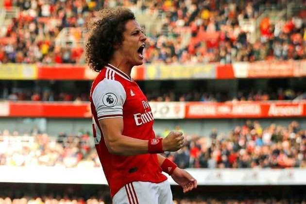 David Luiz - 34 anos - Zagueiro - Último clube: Arsenal - Sem contrato desde: 01/07/2021