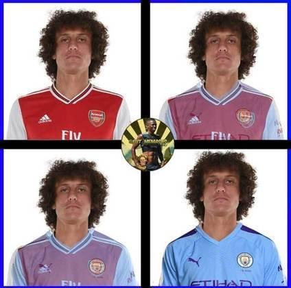 David Luiz vira piada na web após falhas contra o Manchester City