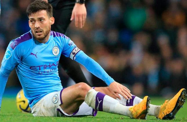 David Silva - O espanhol deixou o Manchester City em 2020 após uma despedida emocionante e atualmente é atleta da Real Sociedad