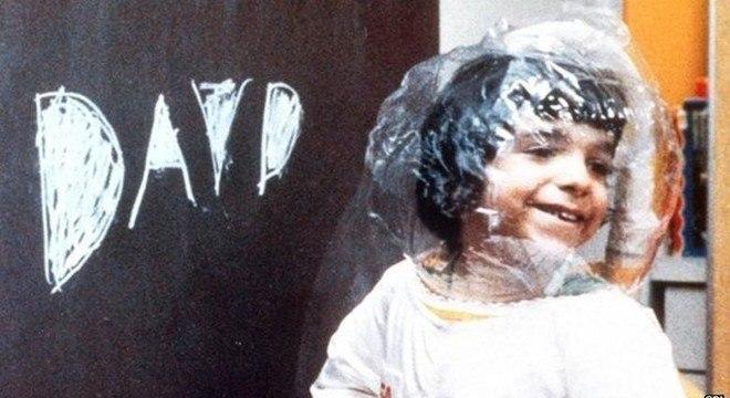 David Vetter ficou conhecido na década de 1970 como o 'menino bolha'