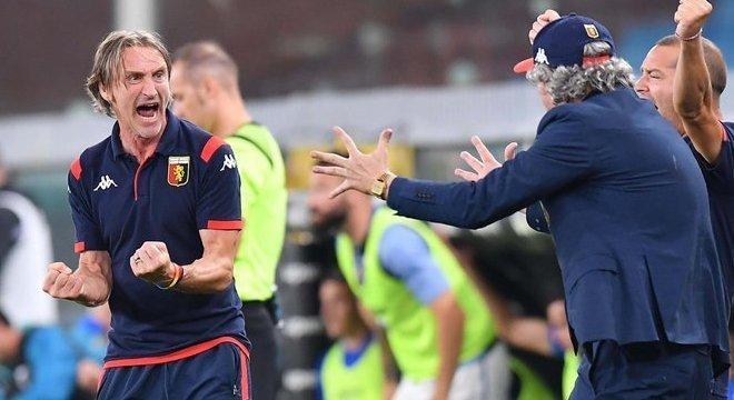 Davide Nicola, o treinador do Genoa