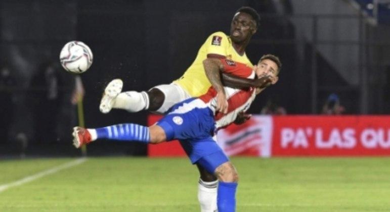 Davinson Sánchez - Paraguai x Colômbia