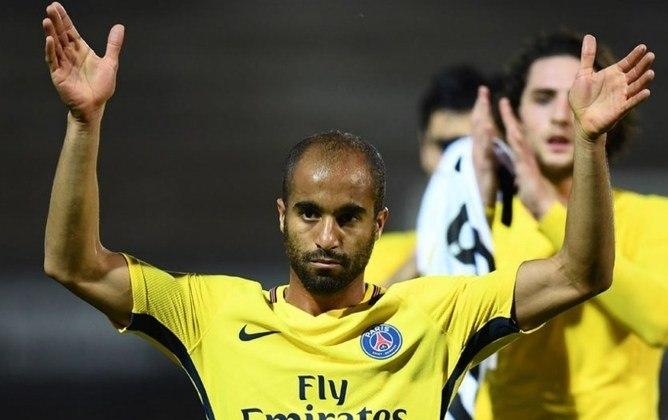 De 2013 a 2018, Lucas Moura vestiu a camisa do PSG. Pelo clube, são 229 jogos, 46 gols e 48 assistências. Conquistou 18 títulos.