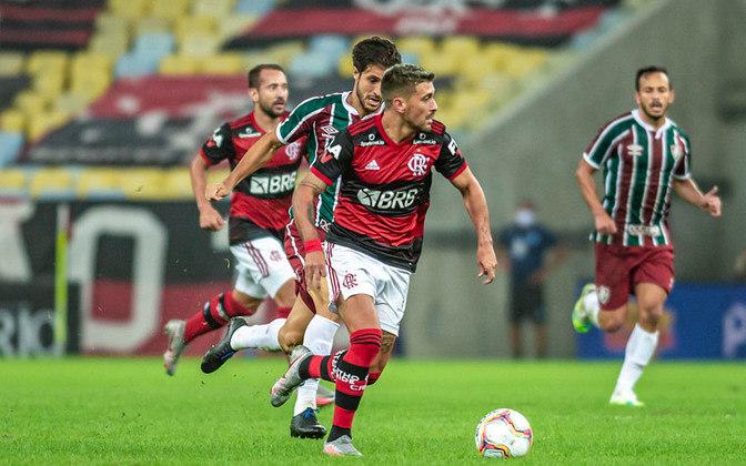 De Arrascaeta (Flamengo) - Um dos destaques do Flamengo em 2020, Arrascaeta servirá o Uruguai nas Eliminatórias e desfalca o clube em três jogos.