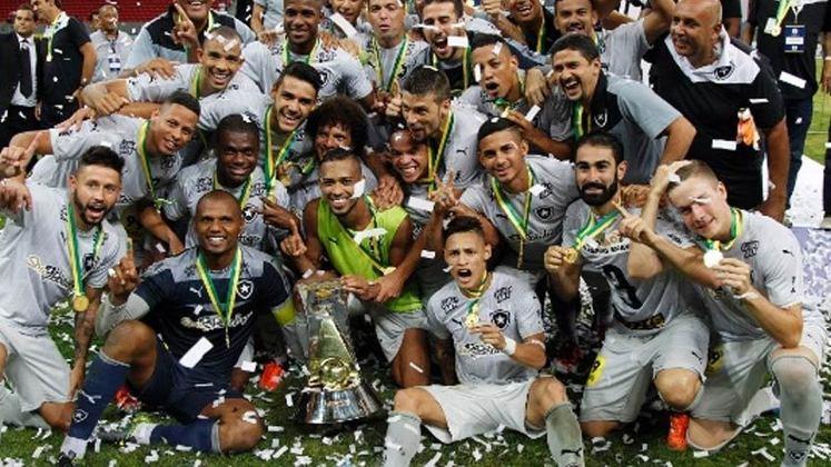 De forma até tranquila, o Botafogo foi campeão da segunda divisão em 2015. O destaque na campanha foi Jefferson, que, mesmo com propostas de equipes da Série A, preferiu ficar para ajudar o Alvinegro em um momento complicado.