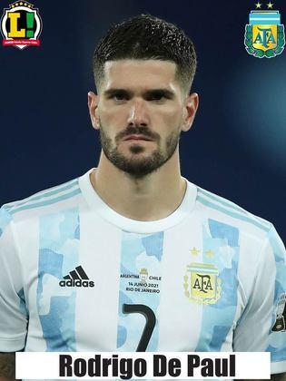 De Paul - 7,0 - Foi bem defensivamente e importante na saída de bola da Argentina. Deu uma bela assistência para Di Maria.