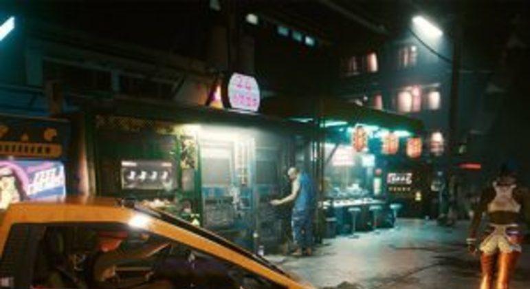 De volta à PS Store, Cyberpunk 2077 é o jogo mais baixado da loja em junho