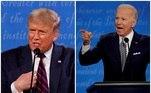O primeiro debate das eleições presidenciais nos Estados Unidos, na terça-feira (29), teve troca de acusações e ofensas entre o republicano Donald Trump e o democrata Joe Biden. A comissão que organiza os debates afirmou que pretende fazer alterações nas regras para evitar que um candidato não interrompa o outro
