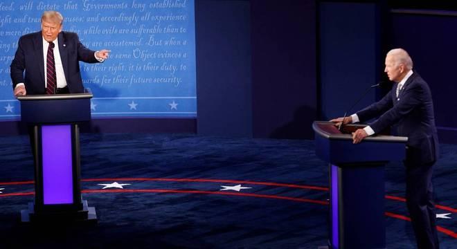 Trump e Biden irão se enfrentar em mais dois debates