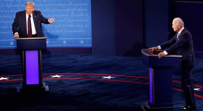 Primeiro debate entre Donald Trump e Joe Biden aconteceu no dia 30 de setembro