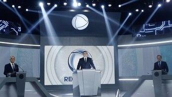 __Confira os melhores momentos do debate na RecordTV__ (Reprodução)