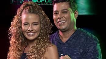 Debby e Leandro são eliminados do reality show. Veja mais (Edu Moraes/Record TV)