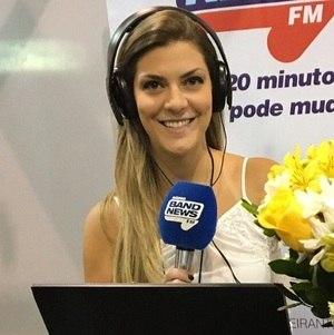 Débora Alfano agora no BandNews TV