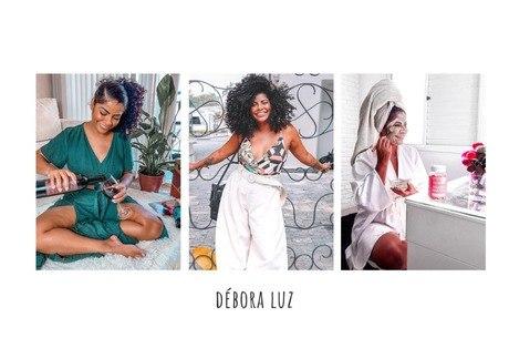 Débora Luz, 31, é proprietária de um clube de assinaturas para empreendedores negros