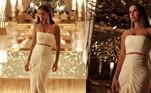Toda produzida, em um cenário de luxo no hotel em que se hospedou em Dubai, Deborah disse que essa é a melhor viagem que a família já fez