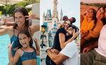 Deborah Secco está vivendo uma viagem luxuosa por vários destinos diferentes. Ao lado do marido Hugo Moura e da filha, Maria Flor, a atriz completou um mês viajando. Eles já visitaram as Ilhas Maldivas, os Emirados Árabes e os Estados Unidos. Confira mais detalhes sobre as férias da família