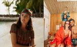 Deborah se mostrou apaixonada pelas Maldivas, ressaltando alguns feitos da filha durante a passagem pelo local: 'Sabe quando você olha pra um lugar e sabe que ele vai ficar pra sempre marcado na memória? Último dia de Maldivas e já estou morrendo de saudades e apegada a todas as histórias que escrevemos aqui e às memórias que vão nos acompanhar pra sempre! A primeira vez que Maria andou de bicicleta sem rodinhas, o seu primeiro mergulho de snorkel… Tantos momento, tantas recordações'