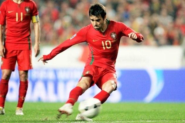 Deco: sem esperar por uma chance de vestir a camisa da Seleção Brasileira, Deco logo se naturalizou português enquanto atuava no Porto.
