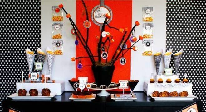 decoracao de festa infantil haloween