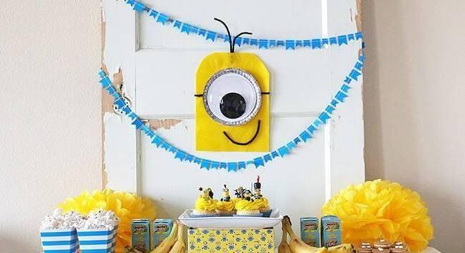 decoracao de festa infantil minions