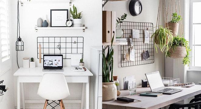 Decoração para home office: ideias para deixar o escritório com a sua cara