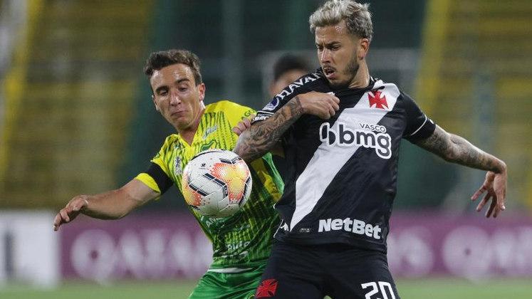 Defensa y Justicia 1 x 1 Vasco - 26/11/2020 - O Vasco saiu na frente, tomou o empate, mas deixou a eliminatória aberta.