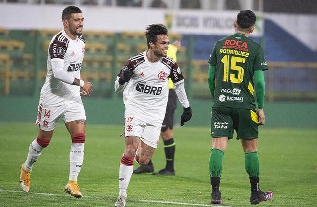 Defensa y Justicia (ARG) 0x1 Flamengo - Ida das oitavas de final da Libertadores, no Norberto