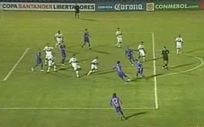 Defensor Sporting 0 x 1 São Paulo 18/03/2009